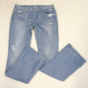 7 for All Mankind Bootcut Lowrise Jeans Sz 10